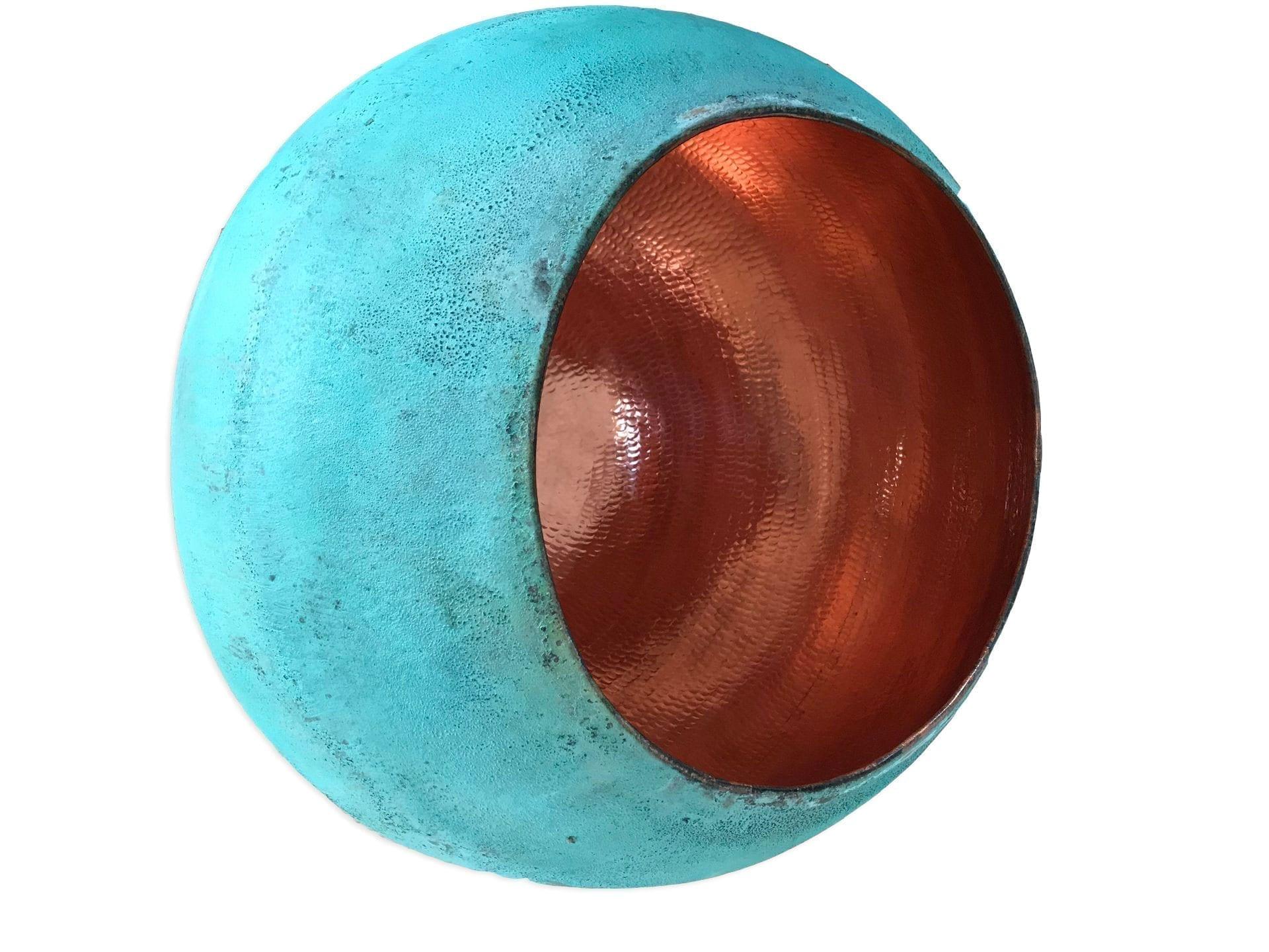 Oxideret kobberlampe