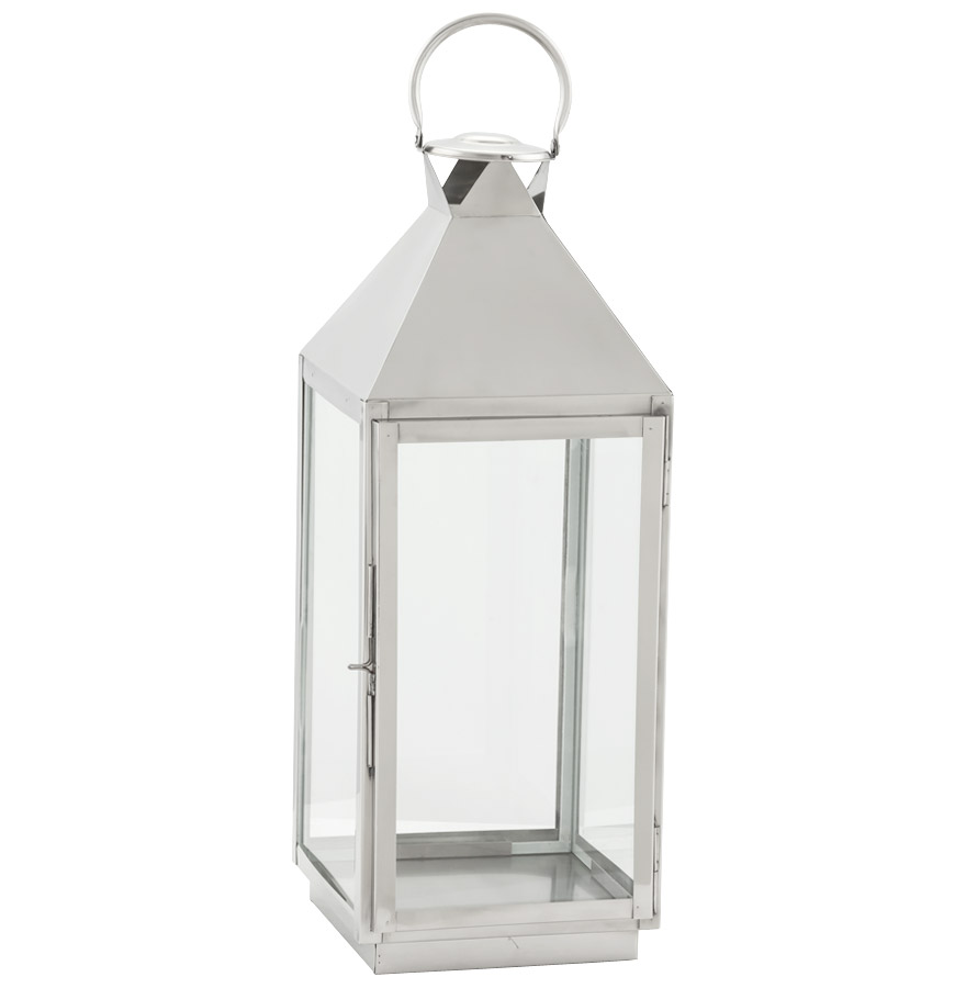 Image of   Lanterne, aluminium, mellem