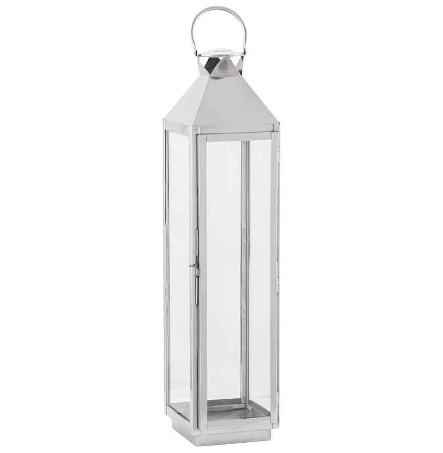 Image of   Lanterne, aluminium, stor