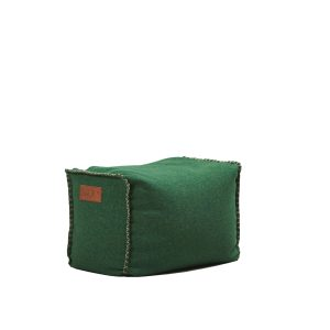 Puf RETROit Cobana Square Puff - Green
