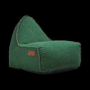 Grøn sækkestol