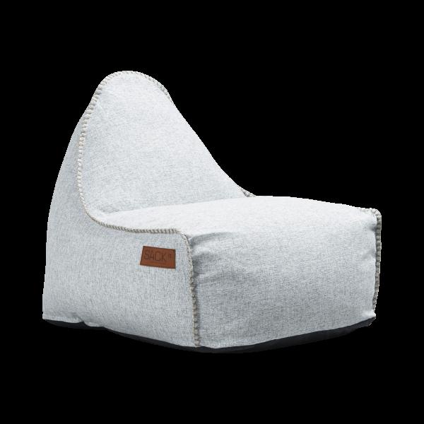 hvid sækkestol