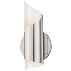 Evie væglampe i poleret nikkel