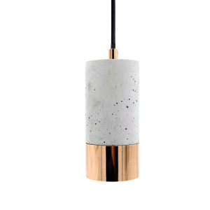 Lys betonlampe