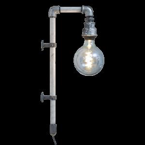 WallPipe White væglampe