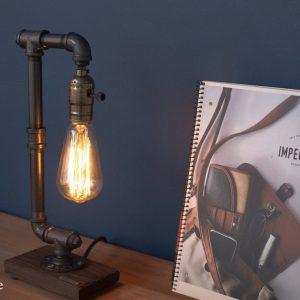 Vandrør bordlampe model 18.1