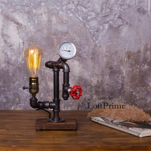 Vandrør bordlampe model 64.1
