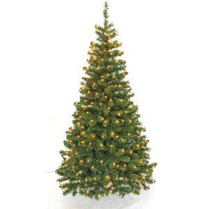 Juletræ med LED lys