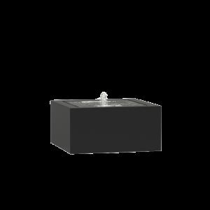 Springvand aluminium 80 x 80 cm højde 40 cm