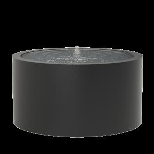 Springvand aluminium rund Ø145 højde 75 cm