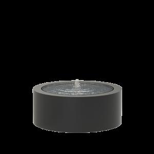 Springvand aluminium rund Ø100 cm højde 40 cm