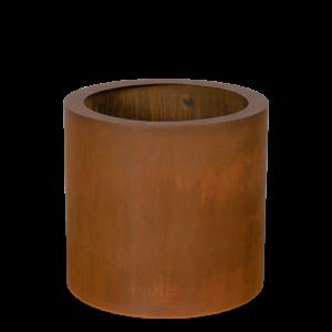 Corten stål krukke cylinder