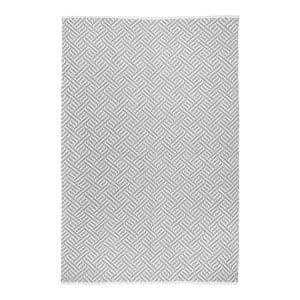 Udendørs tæppe grå 140x200 cm