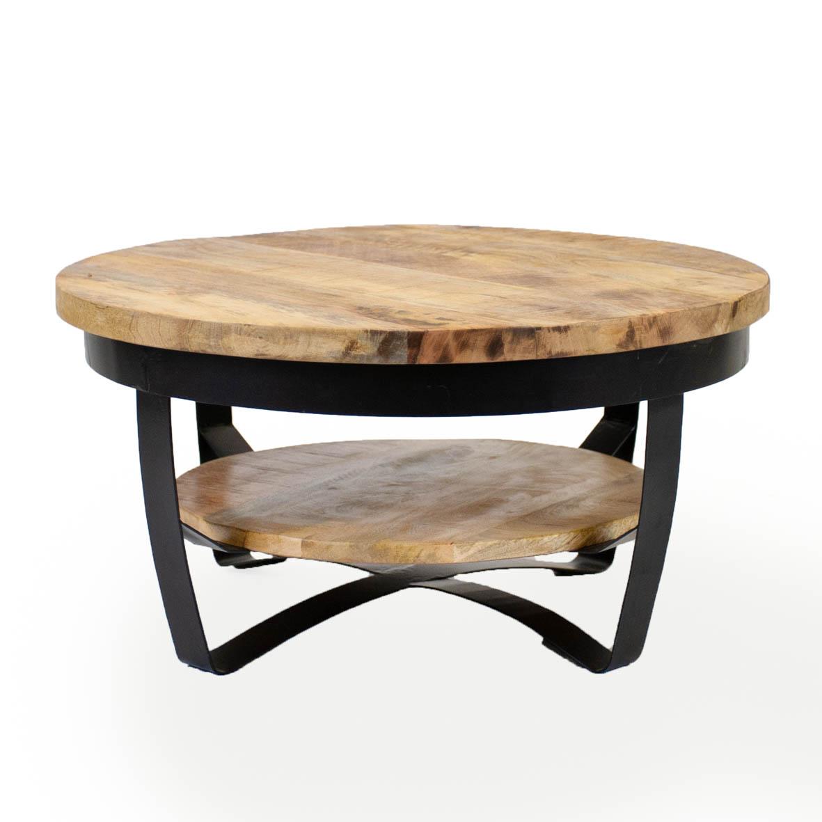 Billede af Baldo 70 cm træ sofabord