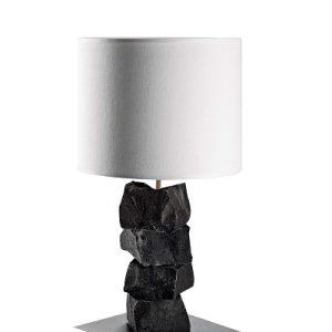 HH Lux hvid bordlampe
