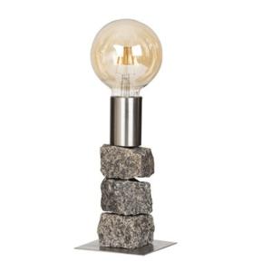 Bordlampe - Model Alf 35 cm stål