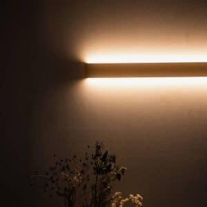 Væglampe SLIM 50 cm uden knaster