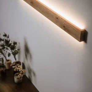 Væglampe SLIM 100 cm med knaster