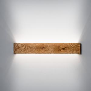Væglampe SLIM 50 cm med knaster