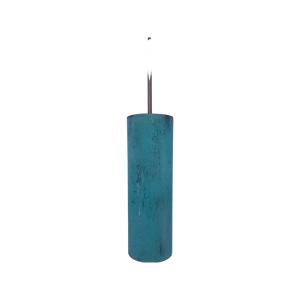 Oxideret kobberlampe Tube Ø10